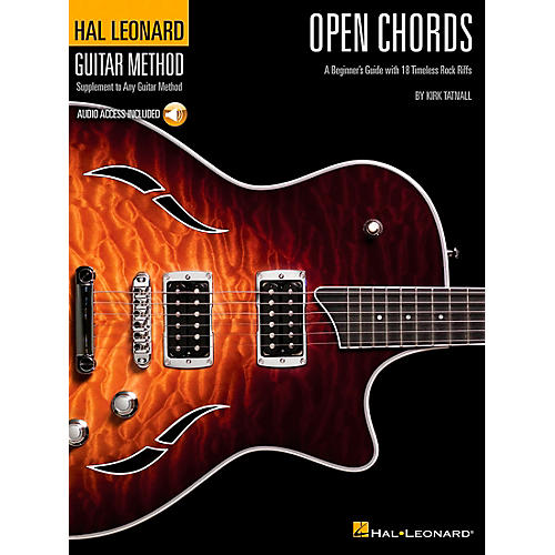 Hal Leonard Open Chords Book/CD Hal Leonard guitar Method Supplement-thumbnail