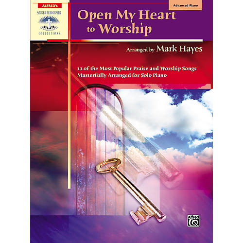 Alfred Open My Heart to Worship Advanced Piano-thumbnail