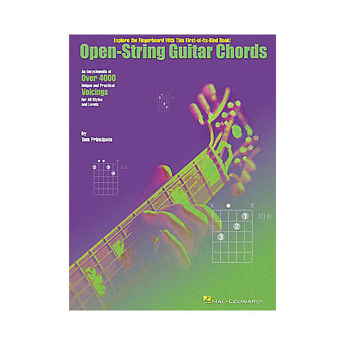 Hal Leonard Open-String Guitar Chords Book
