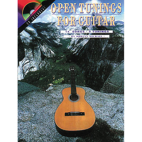 Centerstream Publishing Open Tunings for Solo Guitar (Book/CD)-thumbnail