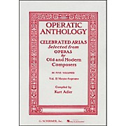 G. Schirmer Operatic Anthology Vol 2 Piano Celebrated Arias Mezzo Soprano