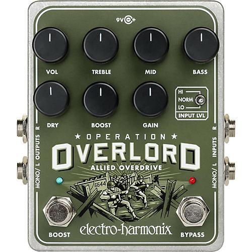 Electro-Harmonix Operation Overload Overdrive Pedal