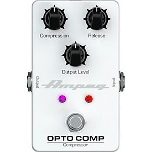 Ampeg Opto Comp Optical Compressor Effects Pedal by Ampeg