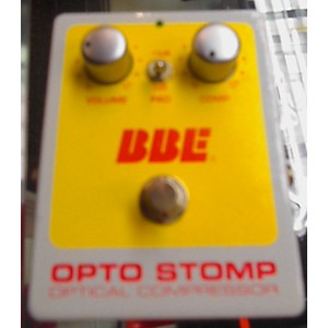 Pre-owned BBE Opto Stomp Effect Pedal by BBE