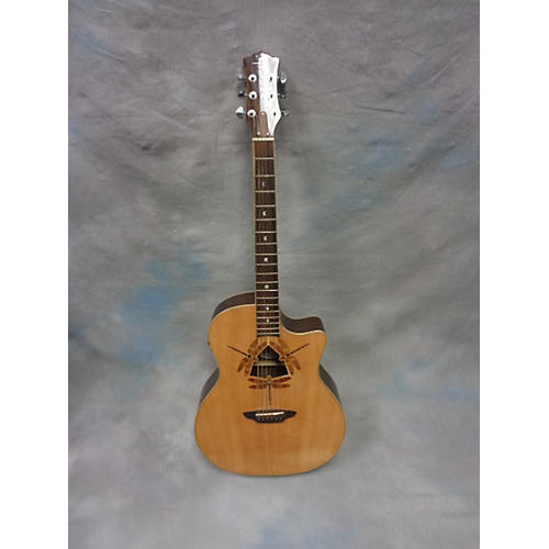 Luna Guitars Oracle Dragonfly Acoustic Electric Guitar
