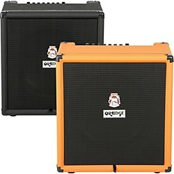 Orange Amplifiers Crush PiX Bass Series CR100BXT 100W 1x15 Bass Combo Amp (CR100BXT)
