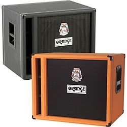 Orange Amplifiers OBC Series OBC115 400W 1x15 Bass Speaker Cabinet (OBC115 Black)