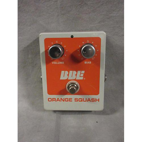 BBE Orange Squash Compressor Effect Pedal