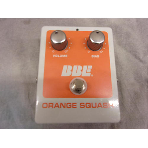 BBE Orange Squash Effect Pedal-thumbnail