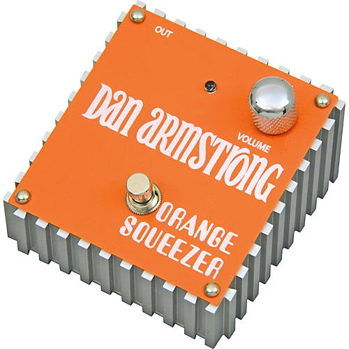 Dan Armstrong Orange Squeezer Compressor Guitar Effects Pedal-thumbnail