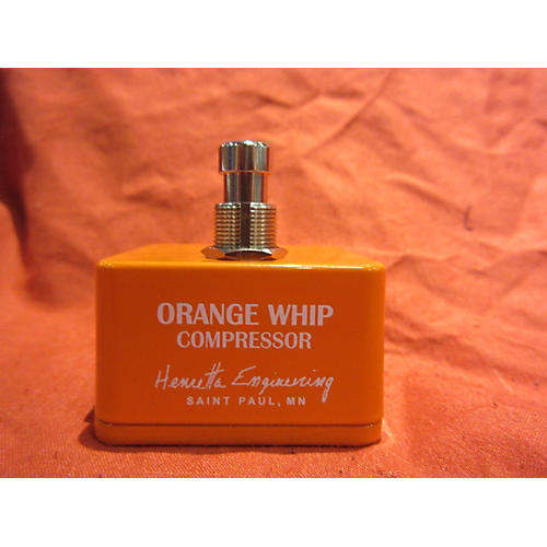 In Store Used Orange Whip Effect Pedal-thumbnail