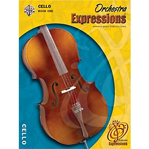 Alfred Orchestra Expressions Book One Student Edition Cello Book and CD 1 by Alfred