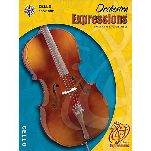 Alfred Orchestra Expressions Book One Student Edition Cello Book & CD 1-thumbnail