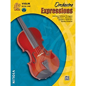 Alfred Orchestra Expressions Book One Student Edition Violin Book and CD 1