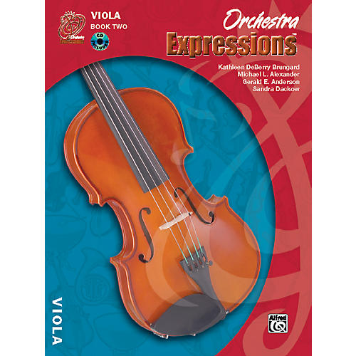 Alfred Orchestra Expressions Book Two Student Edition Viola Book & CD 1-thumbnail