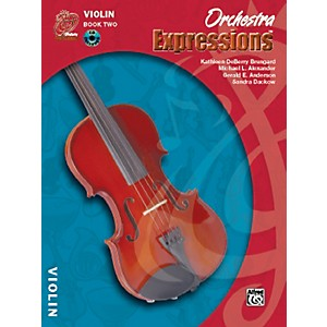 Alfred Orchestra Expressions Book Two Student Edition Violin Book and CD 1 by Alfred