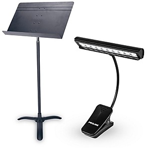 Proline Orchestra Music Stand and LED Light Combo