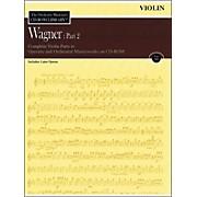 Hal Leonard Orchestra Musician's CD-Rom Library Vol 12 Wagner Part 2 Violin 1 & 2