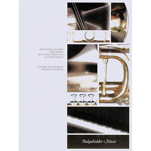 Carl Fischer Orchestral Excerpts for Trumpet with Piano Reduction Accompaniments Book