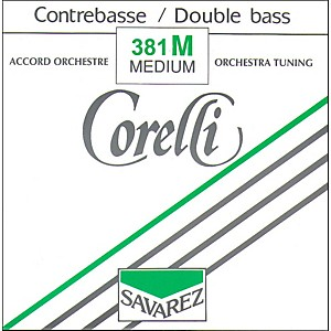 Corelli Orchestral Nickel Series Double Bass G String by Corelli