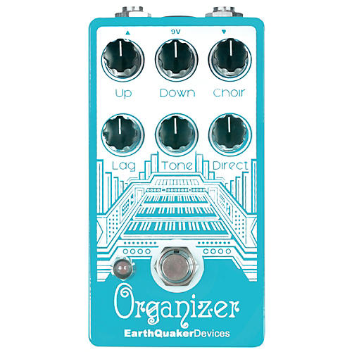 Earthquaker Devices Organizer Polyphonic Organ Emulator Guitar Effects Pedal-thumbnail
