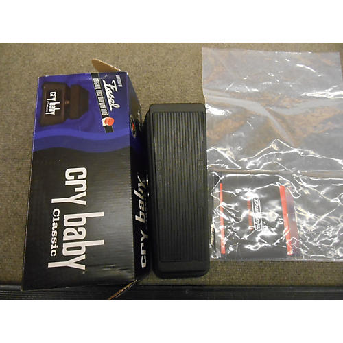 Dunlop Original Cry Baby Wah Black Effect Pedal