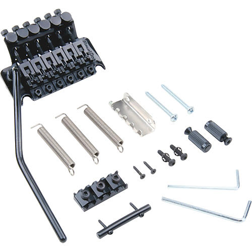 Floyd Rose Original Series Tremolo Bridge with R3 Nut Black