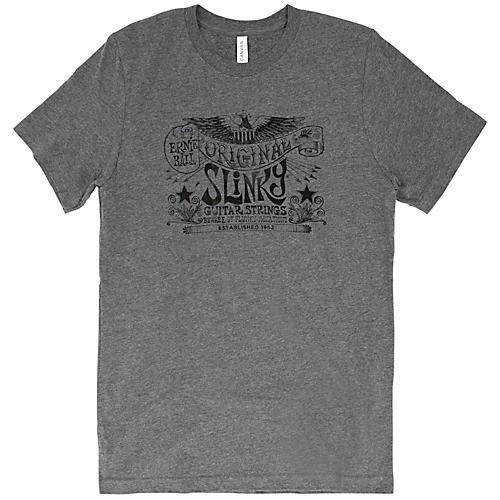 Ernie Ball Music Man Original Slinky Deep Heather T-Shirt-thumbnail