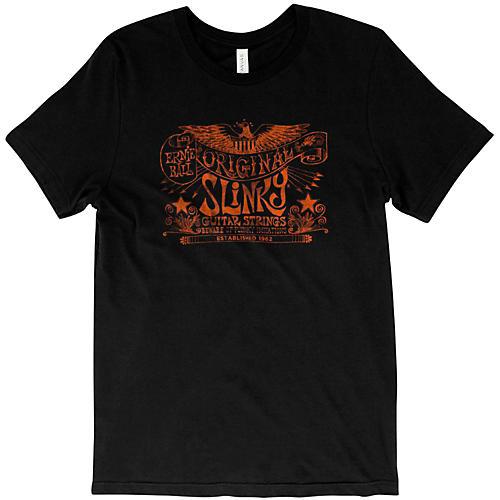 Ernie Ball Original Slinky Vintage Black T-Shirt