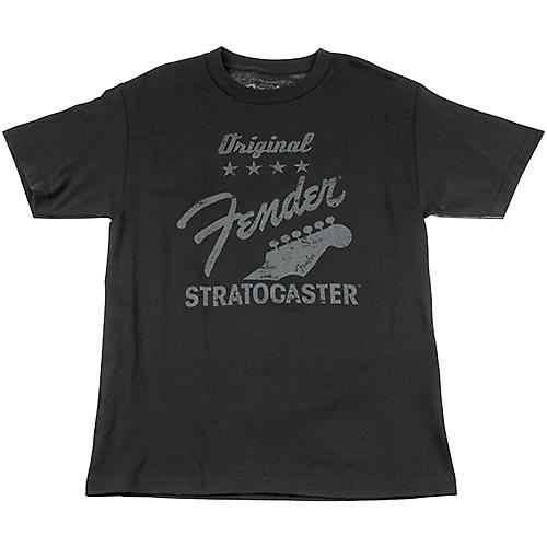 Fender Original Strat T-Shirt, Charcoal-thumbnail