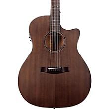 Orleans Studio Acoustic Guitar See-Thru Black