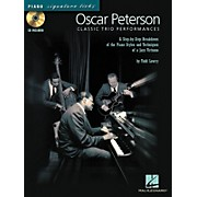 Hal Leonard Oscar Peterson Classic Trio Performances - Piano Signature Licks Series (CD/Booklet)