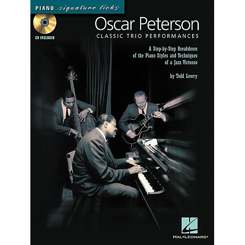 Hal Leonard Oscar Peterson Classic Trio Performances - Piano Signature Licks Series (CD/Booklet)-thumbnail