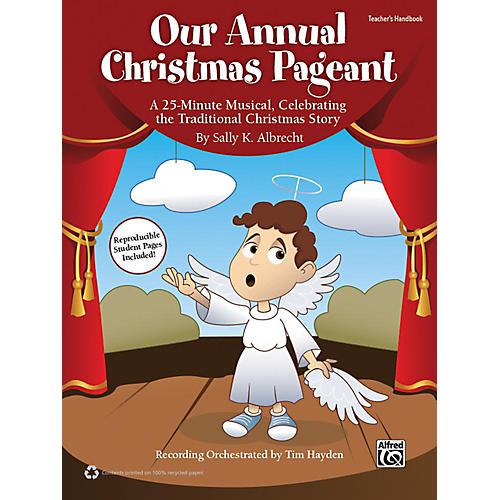 Alfred Our Annual Christmas Pageant Book & CD-thumbnail
