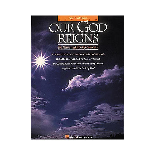 Hal Leonard Our God Reigns - Revised Piano, Vocal, Guitar Songbook