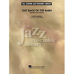 Hal Leonard Out Back of the Barn Baritone Sax Feature Jazz Band Level 4 A... by Hal Leonard