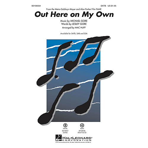 Hal Leonard Out Here on My Own ShowTrax CD Arranged by Mac Huff