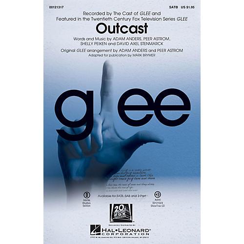 Hal Leonard Outcast SATB by Glee Cast