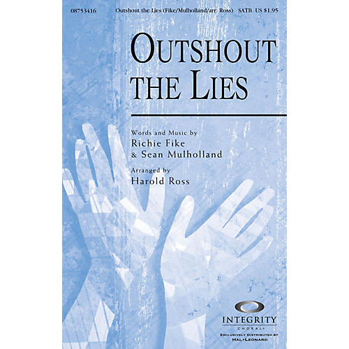Integrity Choral Outshout the Lies CD ACCOMP Arranged by Harold Ross