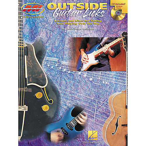Musicians Institute Outside Guitar Licks (Book/CD)