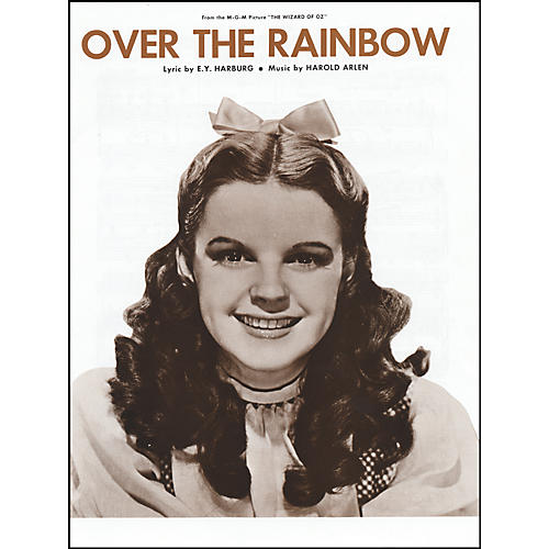 Alfred Over the Rainbow from The Wizard of Oz Vocal, Piano/Chord Sheet Music-thumbnail