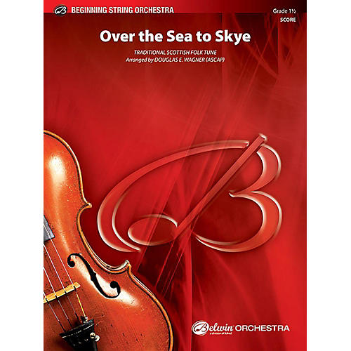 Alfred Over the Sea to Skye String Orchestra Grade 1.5 Set-thumbnail