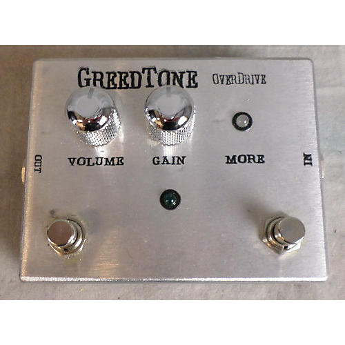 Green Tones Overdrive Effect Pedal