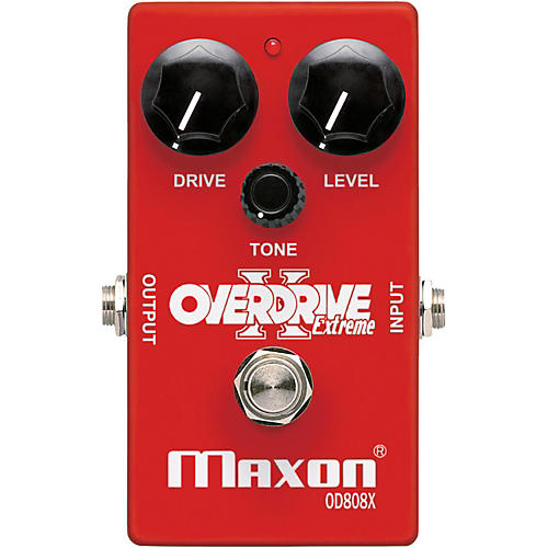 Maxon Overdrive Extreme Guitar Effects Pedal-thumbnail