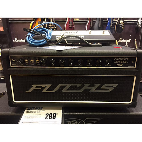 Fuchs Overdrive Supreme Tube Guitar Amp Head-thumbnail