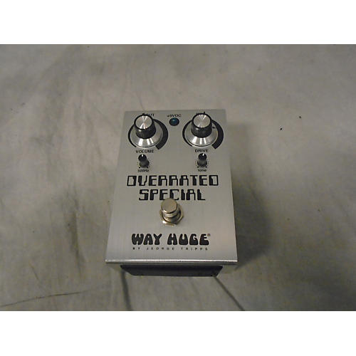 Way Huge Electronics Overrated Special Effect Pedal-thumbnail