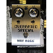 Way Huge Electronics Overrated Special Effect Pedal