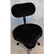 Gibraltar Oversized Motorcycle Seat With Backrest Drum Throne