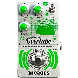 Jacques Overtube Vintage Pro Overdrive Effects Pedal by Jacques