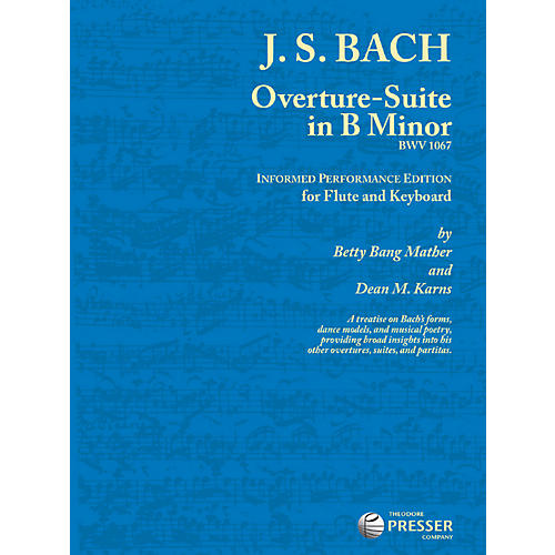 Theodore Presser Overture-Suite In B Minor (Book + Sheet Music)-thumbnail